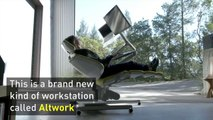 This desk lets you lie down on the job (literally)