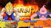 Combat Animé: DragonBallZ - Majin Vegeta VS Buu Buu