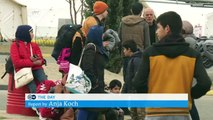 Afghan refugees stranded at Greek border | DW News
