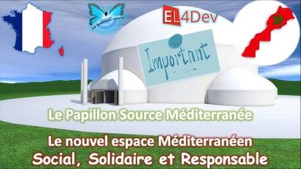 Maroc + France - Concevoir un nouvel espace Méditerranée social et solidaire – EL4DEV – Le Papillon Source