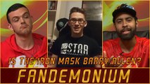 The Flash After Show Fandemonium - Is The Iron Mask Barry Allen?