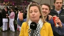 Belgian Reporter Harassed with Obscene Gestures during Cologne Carnival