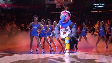 Clippers unveil new mascot Chuck the Condor