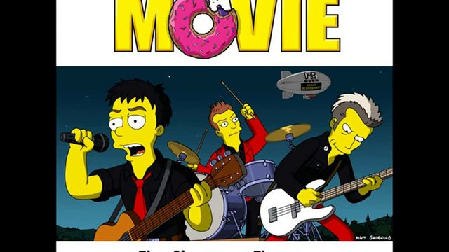 Green Day - The Simpsons Theme (From The Simpsons Movie)