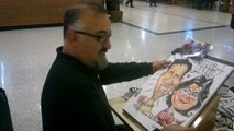 cepa avm karikatür çizimi caricature,bodrum,http://alisur-cartoon.blogspot.com.tr/