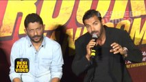 Rocky Handsome Trailer 2016   John Abraham, Shruti Haasan   Rocky Handsome Official Trailer Launch