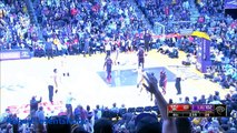 Kobe Bryant death stare at ref. then destroys Terrence Ross with AND1 stepback Jumper (11/