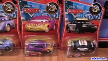 10 Disney Cars Snow Day Sally, Marilyn, Kabuto Lightning McQueen, Jay Limo Pixar by Blucollection