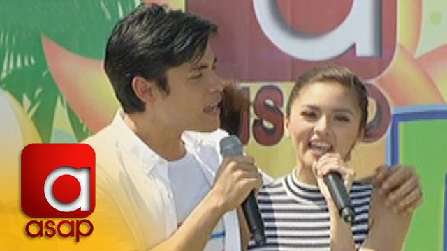 ASAP: Kapamilya Loveteams spread love on ASAP Fans Day in Laguna
