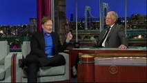 Conan O'Brien Interview - Letterman 2012 05 17 HQ