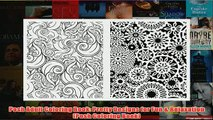 Download PDF  Posh Adult Coloring Book Pretty Designs for Fun  Relaxation Posh Coloring Book FULL FREE