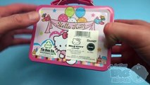 Baby Big Mouth Surprise Egg Lunchbox! Hello Kitty Edition! With Giant JUMBO Surprise Egg!
