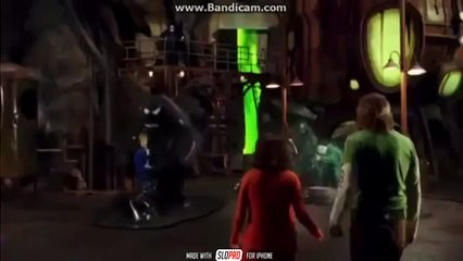 Scooby Doo 2 - Tar Monster Attack (Slow Motion)