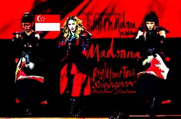 Madonna - Video Introduction / Bitch I'M Madonna (Feat. Nicki Minaj) (Rebel Heart Tour Singapore, National Stadium)
