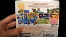 Unboxing of Super Mario 3D Land for the Nintendo 3DS Bowser Luigi Peach toad goomba yoshi