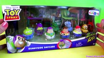 Toy Story 3 Zing Ems Sunnyside Daycare 8-pack Buzz Lightyear, Woody, Jessie Disney Pixar toys