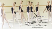 Dance of the Little Swans. The Vaganova Academy of Russian Ballet auditions young dancers.