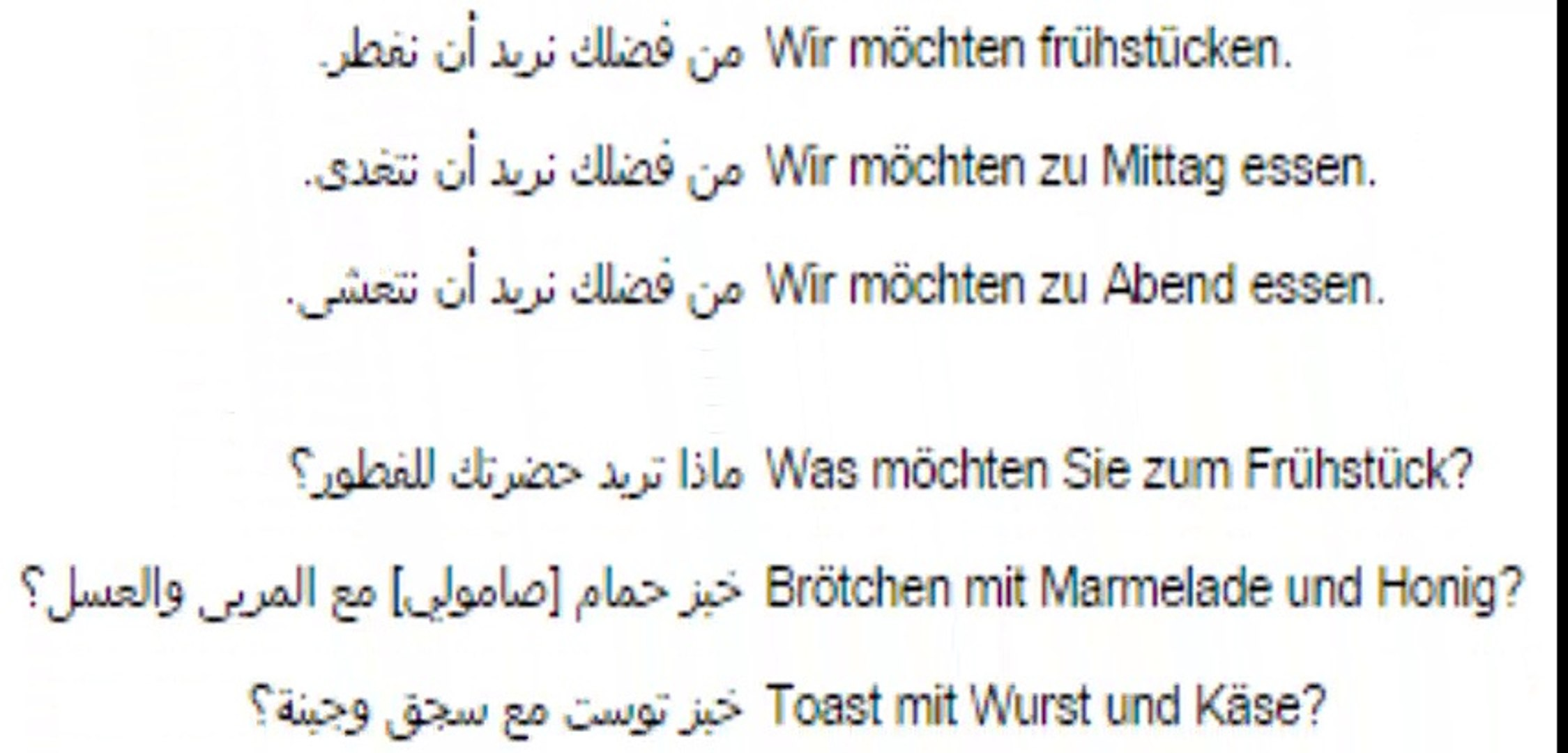 تعليم اللغة الالمانية