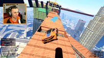 IMPOSSIBLE VERTICAL RAMP! (GTA 5 Funny Moments)