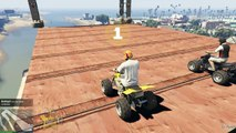GTA 5 Stunts & EPIC Bike Parkour Races! GTA 5 PC Open Lobby! (GTA 5 PC Gameplay Online)