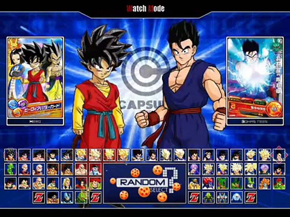Dragon Ball Heroes M U G E N (Hi-Res) PC Game (with Download)