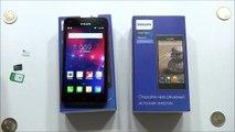 Philips Xenium V787 - распаковка, предварительный обзор