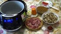 Гречка# с мясом# и грибами#как приготовить гречку с мясом
