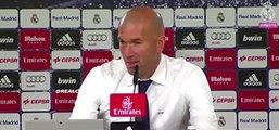 Zinedine Zidane encense Cristiano Ronaldo