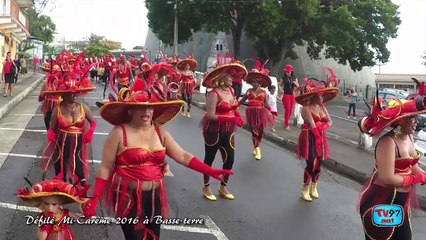 Carnaval Mi Careme 2016 à Basse-terre en GoPro
