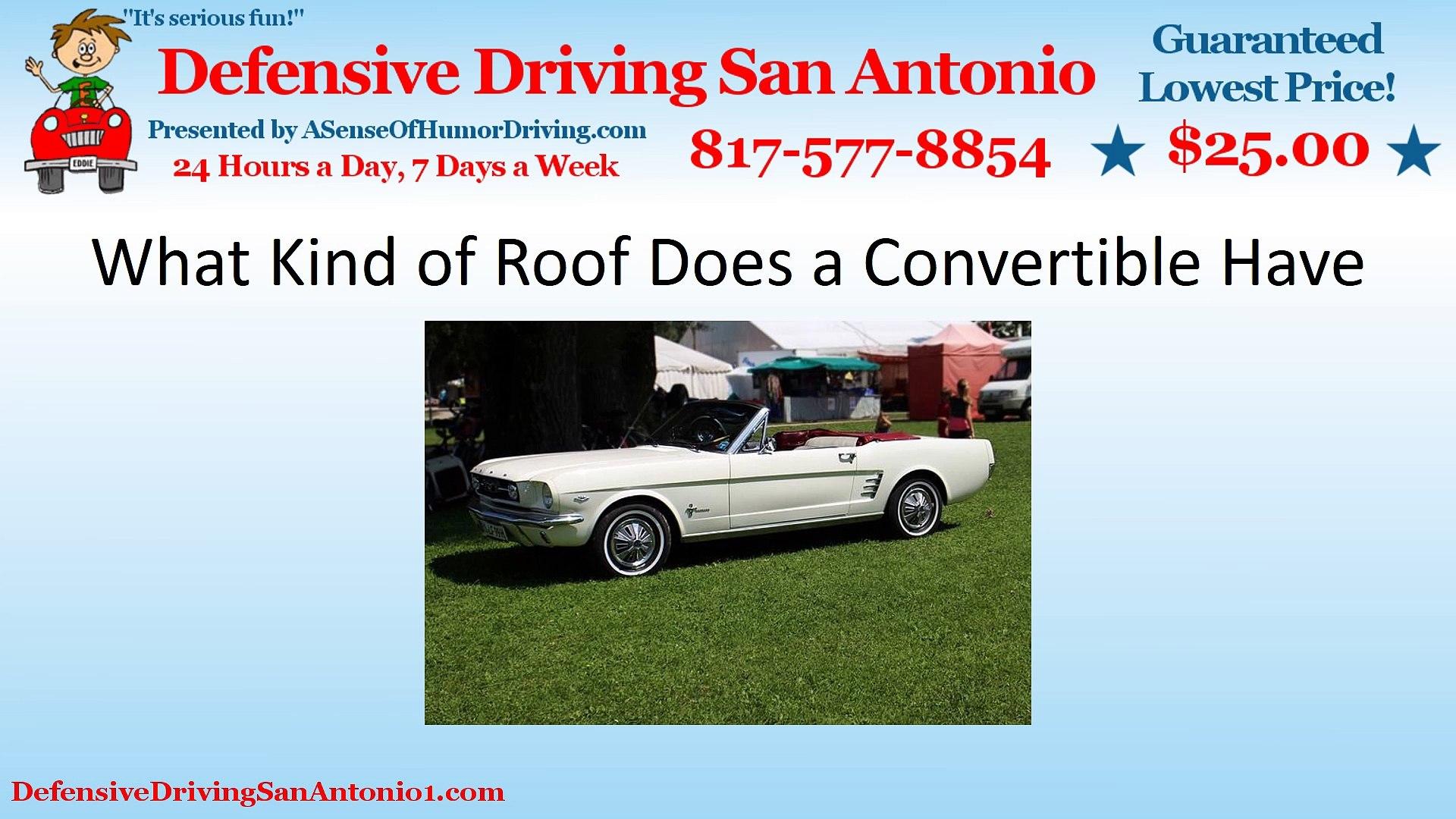 Defensive Driving San Antonio >> Are Convertibles Small