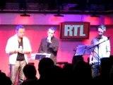 Renaud, Delerm et Benabar chante 100 ans