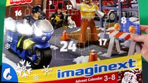 Fisher Price Imaginext And Santa Hot Wheels Advent Calendar Surprise Toys Day 1 Merry Chri