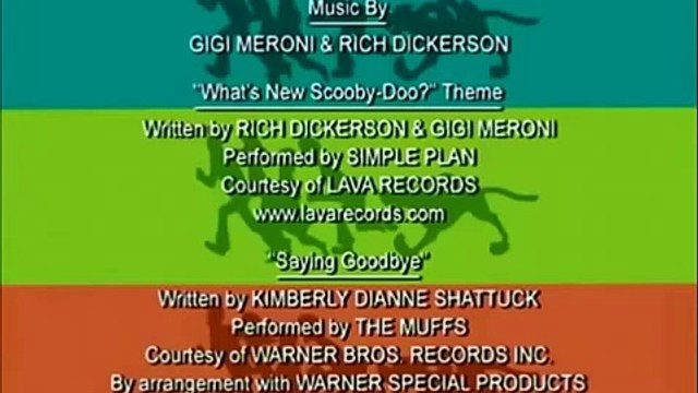 Whats New Scooby Doo Ending with KR Ghost OP