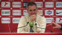 Réaction de Laurent Roussey après Stade Brestois 29 - US Créteil-Lusitanos