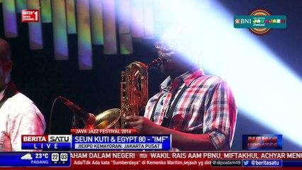 Penampilan Seun Kuti and Egypt 80 di Java Jazz
