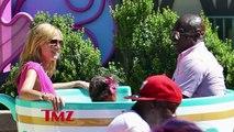 Heidi Klum & Seal: Truce At Disneyland