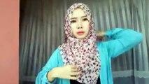 Cara Memakai Jilbab Pashmina Simple Look l Trend Hijab 2016 Ala Zaskia Adya Mecca