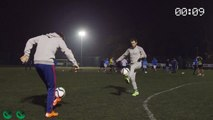 Juan Mata et Ander Herrera jonglent avec deux ballons !