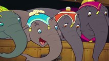 Dumbo is mocked by the other elephants HD
