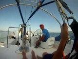 Départ Parachute Ascensionnel Golf de St Tropez 2012 avec Marine Air Sport