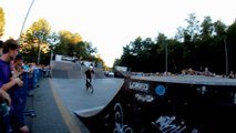 "Damian Onufrak - 360 Tailwhip to Barspin - ""Go High"" contest 2012"