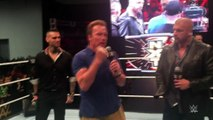 Triple H & Arnold Schwarzenegger do Q&A at Arnold Sports Festival: WWE.com Exclusive, March 5, 201.