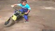 Faadu Bike Stunt By Little Boy-Top Funny Videos-Top Prank Videos-Top Vines Videos-Viral Video-Funny Fails