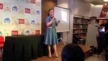 Lea Salonga at Princess Lea (a children's book) launch