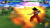 Dragon Ball Z Budokai Tenkaichi 3 - Story Mode Goku & Piccolo Vs Raditz (Part 1)