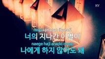 [노래방   반키올림] 너의 지나간 사랑 - 쿨 (너의 지나간 사랑 - COOL   KARAOKE   MR   KEY +1   No KY62476)