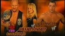 WWF Championship: Stone Cold Steve Austin vs Kurt Angle - Unforgiven 2001