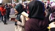 """الشرطة التركية تفرق بالقوة متظاهرين تجمعوا امام صحيفة """"زمان"""""""