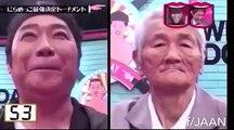 Chi riderà per primo?video divertente su competizione tra giapponesi