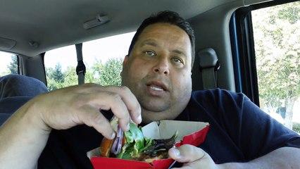 Wendys Pretzel Burger Review!!